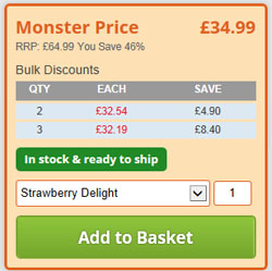 Monster Supplements Bulk Discounts