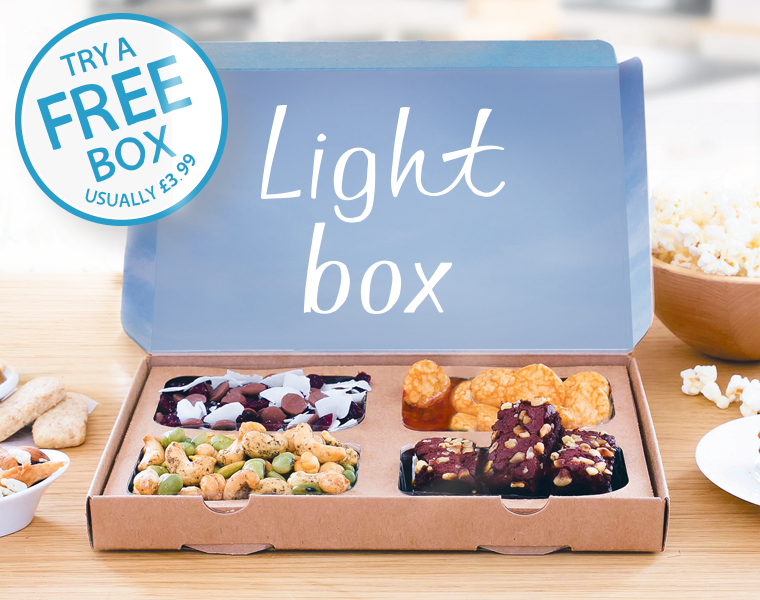 Graze Light Box Snack Freebie